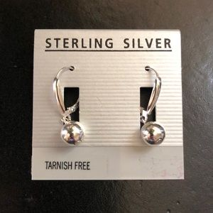Jewelry - Sterling silver earrings NWT